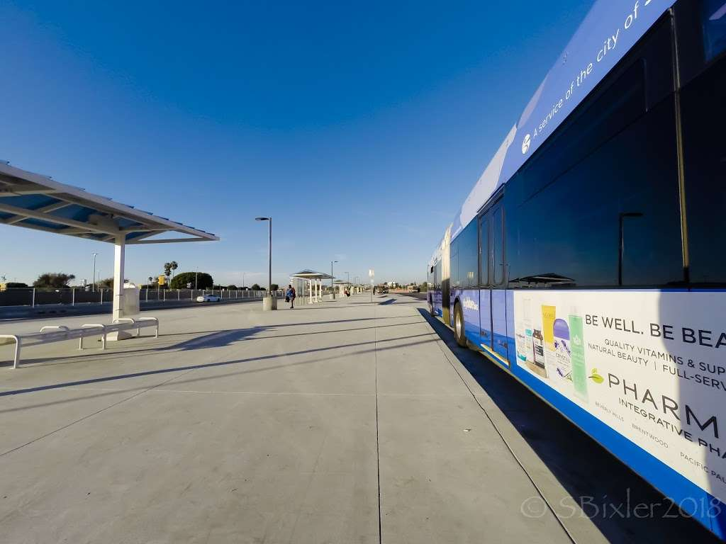 LAX City Bus Center - bus station  | Photo 7 of 10 | Address: West 96th Street, Los Angeles, CA 90045, USA