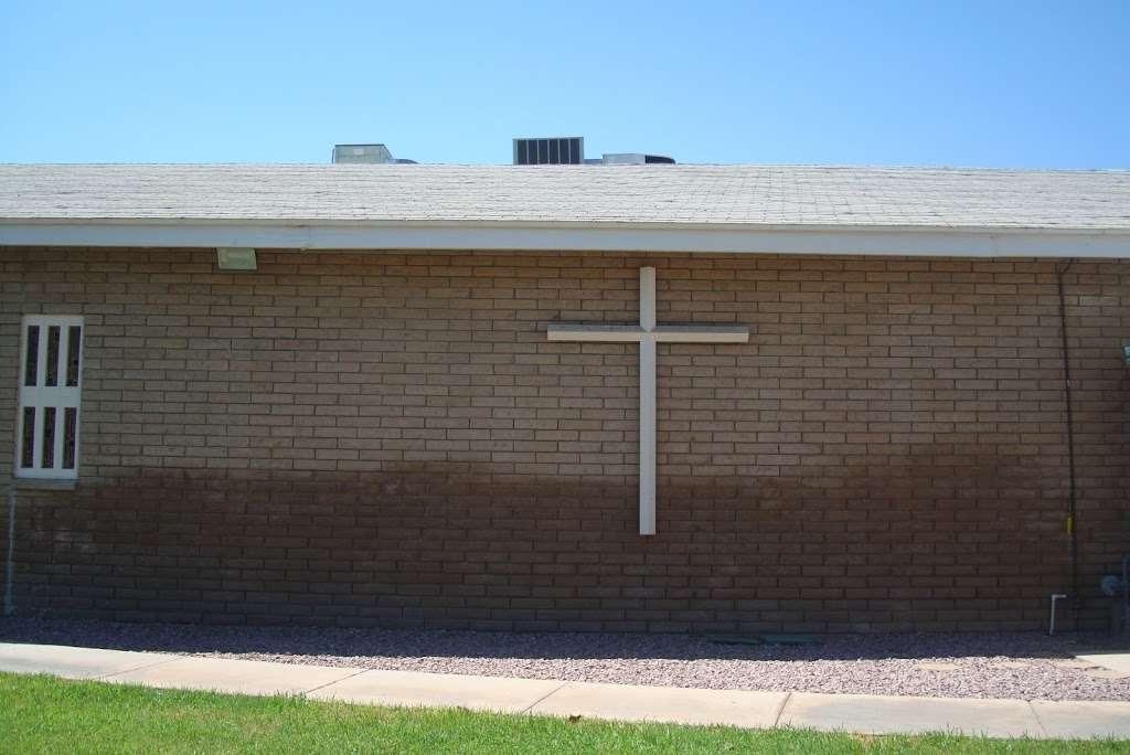 Saint Williams Catholic Church - church    Photo 3 of 9   Address: 11025 W 3rd St, Cashion, AZ 85329, USA   Phone: (623) 936-6115