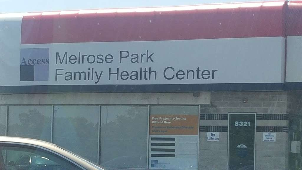 Access Melrose Park Family Health Center - doctor  | Photo 4 of 6 | Address: 8321 W North Ave, Melrose Park, IL 60160, USA | Phone: (708) 681-2298