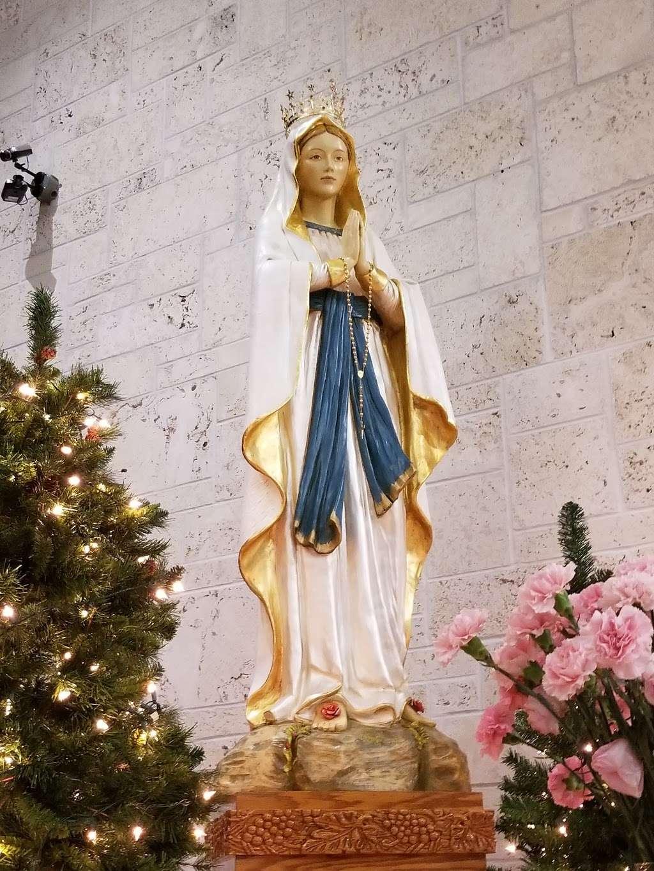 Our Lady of Lourdes Church - church  | Photo 6 of 10 | Address: 22094 Lyons Rd, Boca Raton, FL 33428, USA | Phone: (561) 483-2440