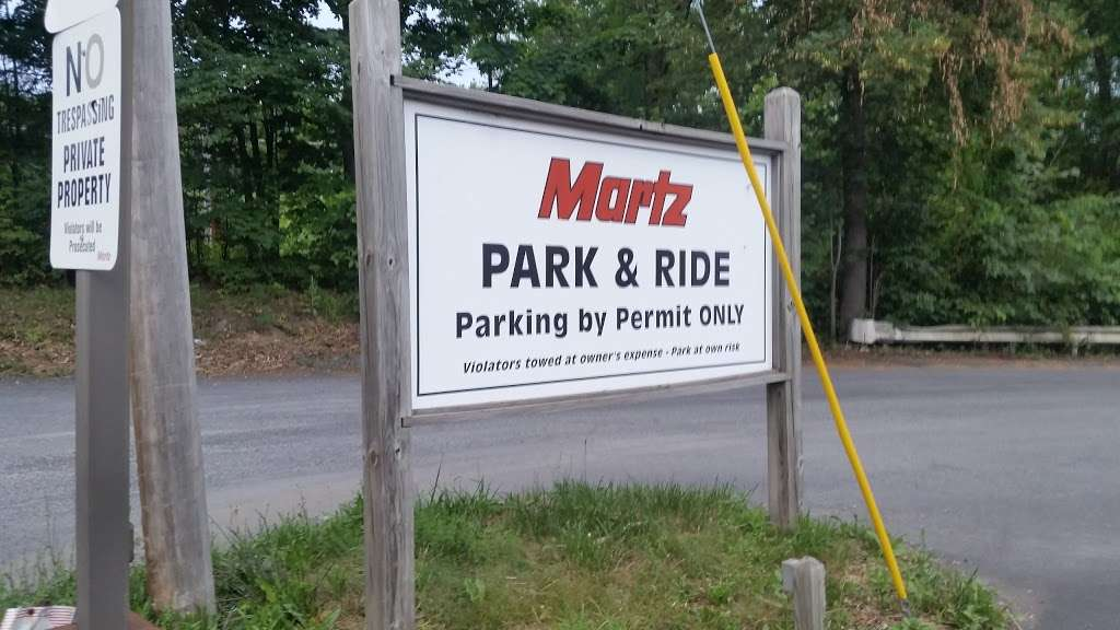 Martz Park & Ride - parking  | Photo 8 of 8 | Address: 5080 Independence Rd, East Stroudsburg, PA 18301, USA | Phone: (570) 420-1744