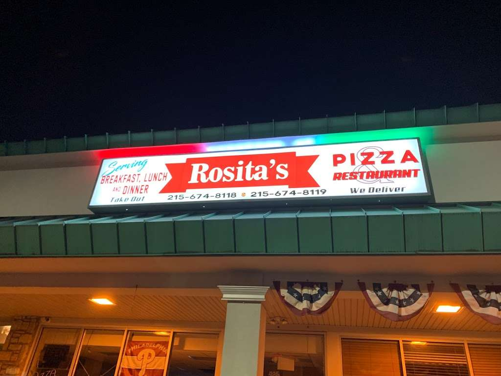 Rositas Pizza & Restaurant - meal delivery  | Photo 2 of 2 | Address: 485 E County Line Rd Suite 1204, Hatboro, PA 19040, USA | Phone: (215) 674-8118