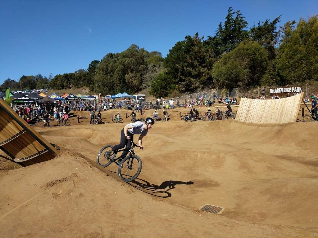 McLaren Bike Park - gym  | Photo 1 of 7 | Address: 2050 Sunnydale Ave, San Francisco, CA 94134, USA