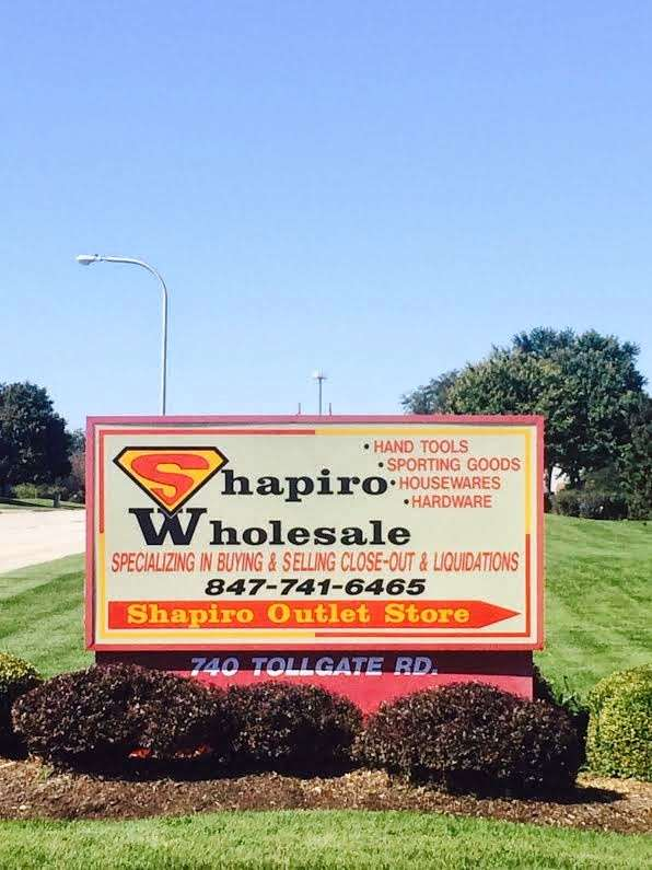 Shapiro Wholesale - store  | Photo 4 of 4 | Address: 740 Tollgate Rd, Elgin, IL 60123, USA | Phone: (847) 741-6465