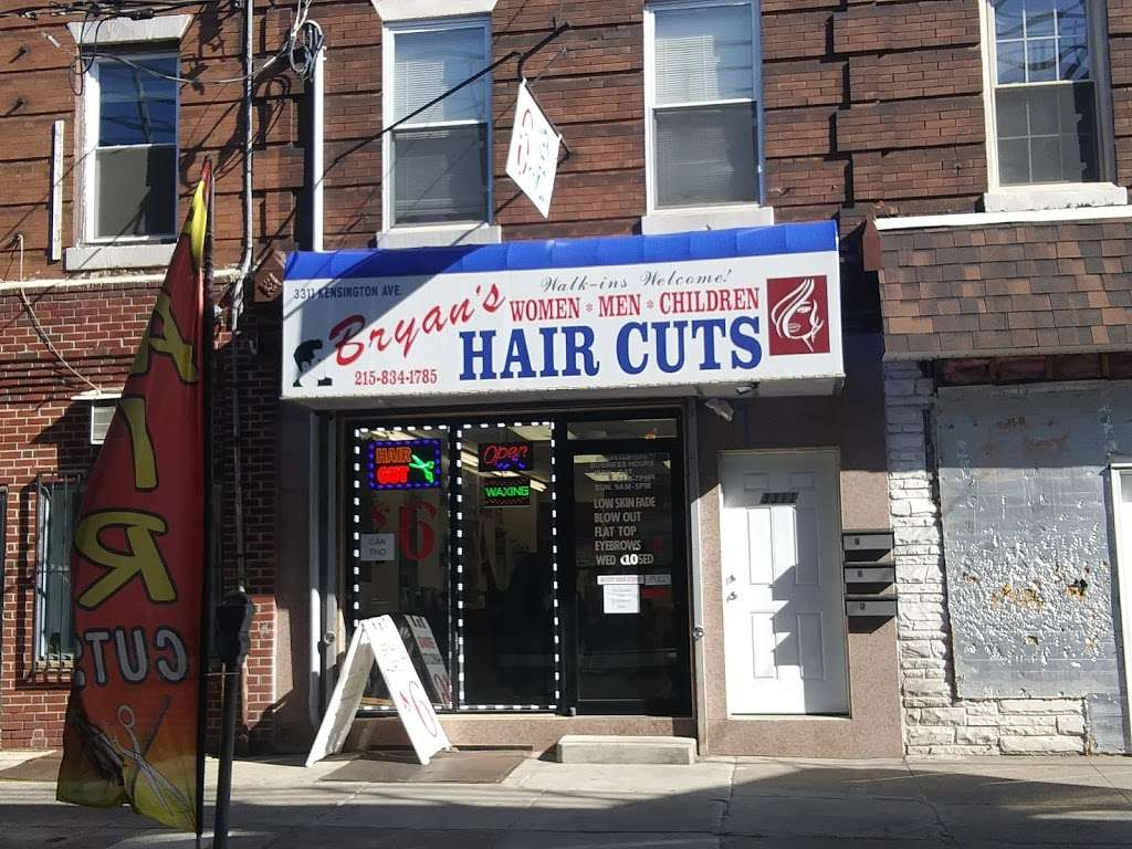 Bryans Hair Cuts - hair care  | Photo 1 of 3 | Address: 3311 Kensington Ave, Philadelphia, PA 19134, USA | Phone: (215) 834-1785