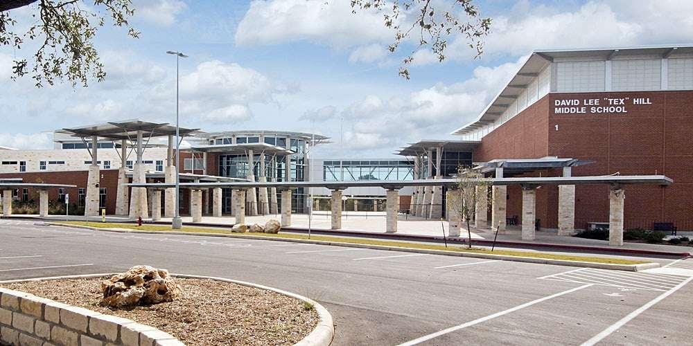 Tex Hill Middle School - school  | Photo 1 of 7 | Address: 21314 Bulverde Rd, San Antonio, TX 78259, USA | Phone: (210) 356-8000