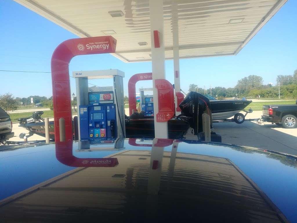 Mobil - Gas station | 229 S Rd, Genoa City, WI 53128, USA