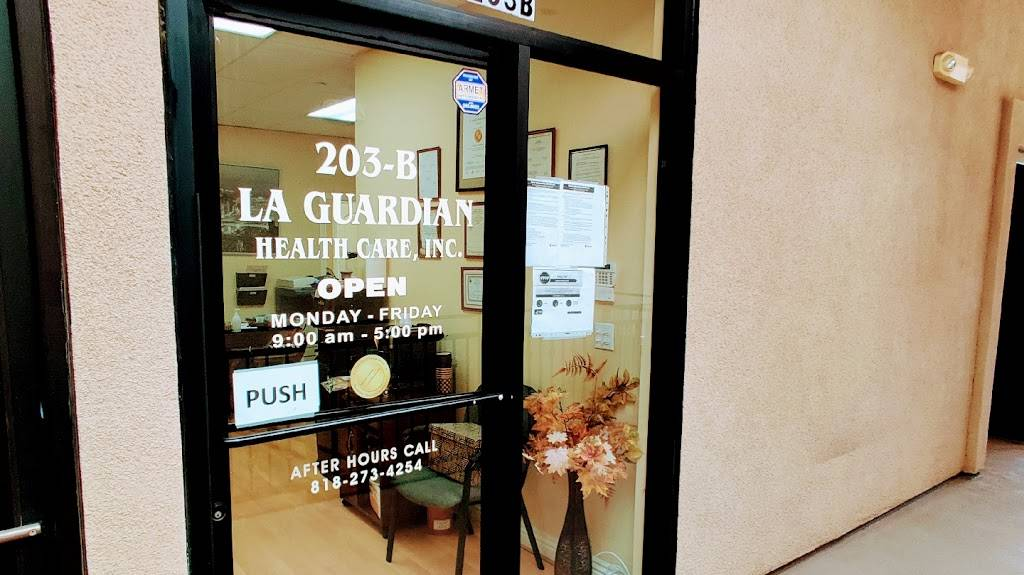 La Guardian Healthcare - health  | Photo 1 of 6 | Address: 6501 Foothill Blvd Ste. 203 B, Tujunga, CA 91042, USA | Phone: (818) 273-4254