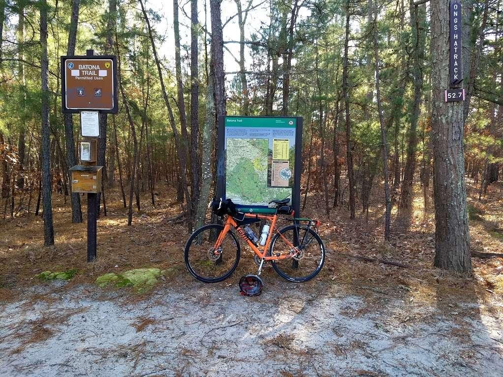 Batona Trail Ongs Hat Parking - park  | Photo 1 of 10 | Address: Turkey Buzzard Bridge Rd, Pemberton, NJ 08068, USA