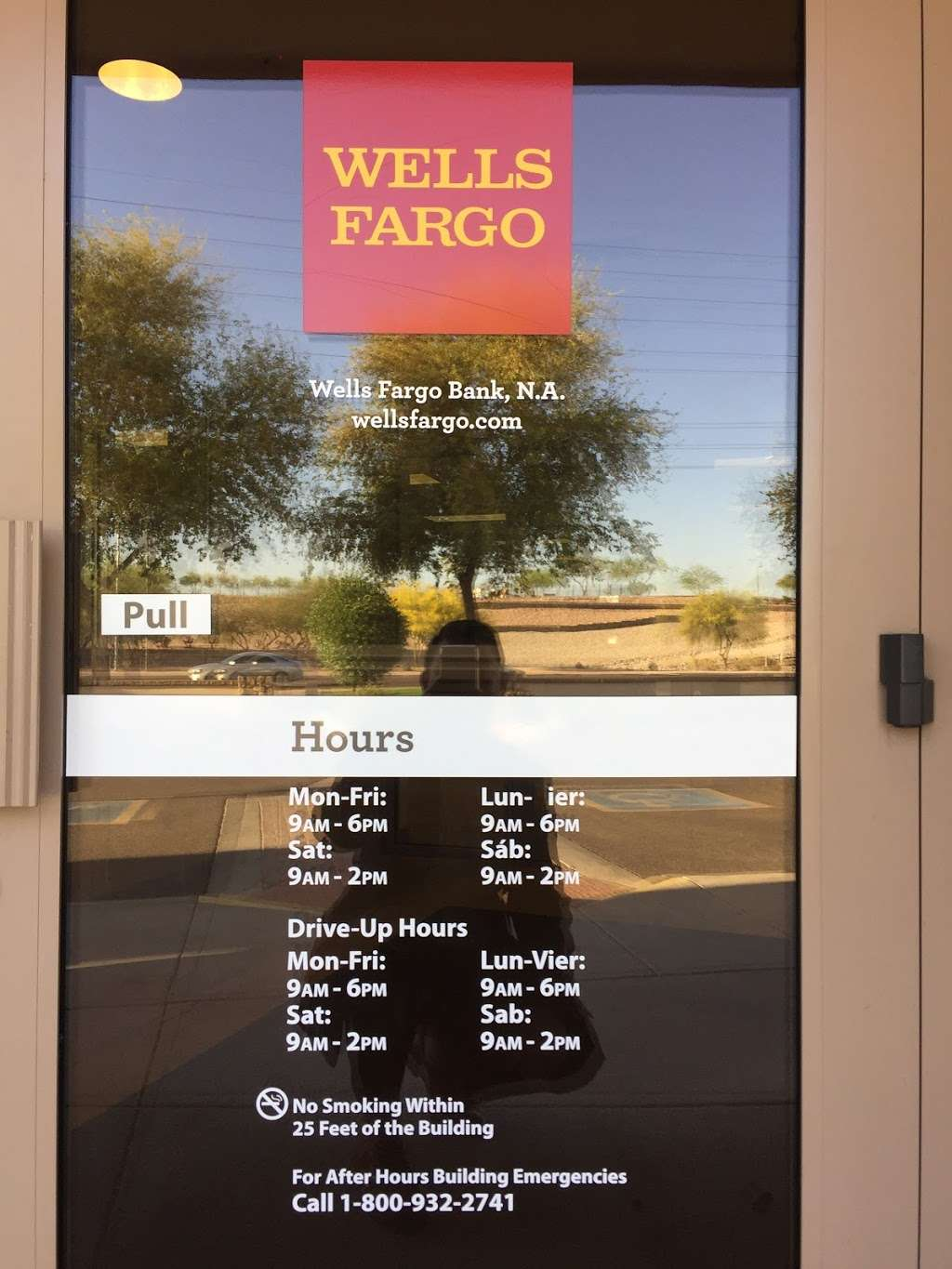Wells Fargo Bank - bank  | Photo 1 of 3 | Address: 1100 W Queen Creek Rd, Chandler, AZ 85248, USA | Phone: (480) 726-1541