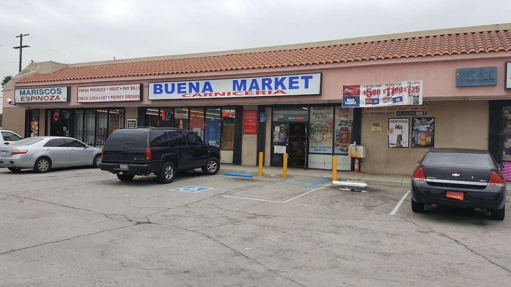 Buena Market - store    Photo 1 of 1   Address: 1338 W 5th St #102, San Bernardino, CA 92411, USA   Phone: (909) 381-1511