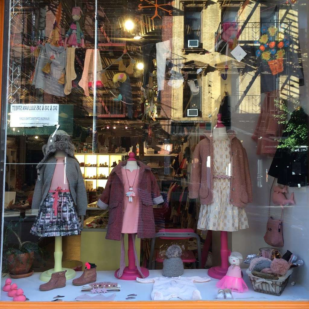 Les Petits Chapelais - clothing store  | Photo 8 of 10 | Address: 146 Sullivan St, New York, NY 10012, USA | Phone: (212) 625-1023