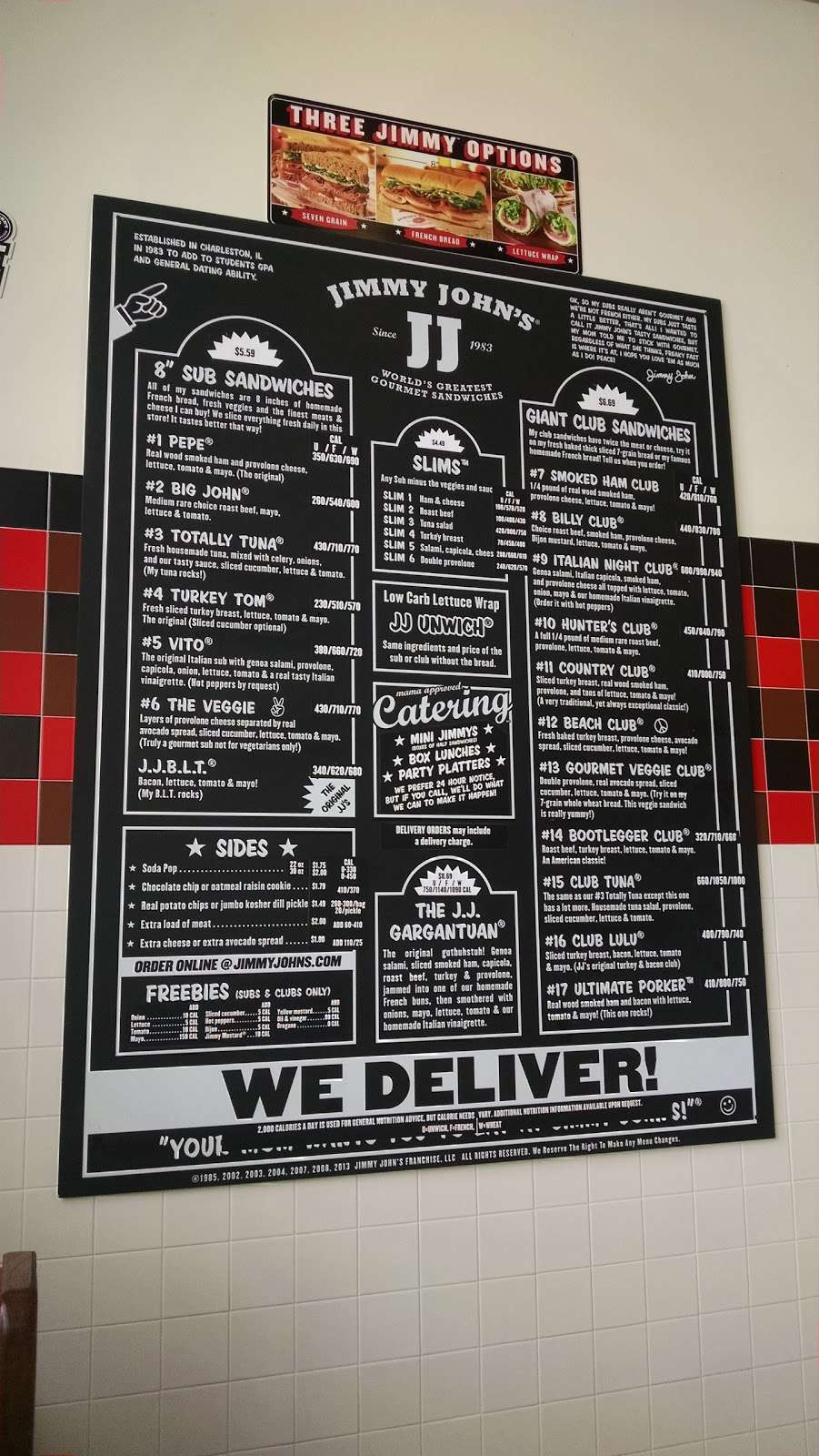 Jimmy Johns - meal delivery  | Photo 3 of 5 | Address: 472 N, IL-47, Sugar Grove, IL 60554, USA | Phone: (630) 466-1300