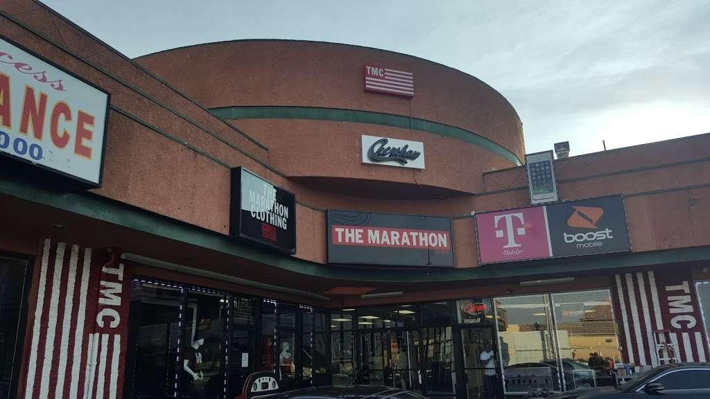 THE MARATHON CLOTHING - clothing store  | Photo 9 of 10 | Address: 3420 W Slauson Ave F, Los Angeles, CA 90043, USA | Phone: (323) 815-4959
