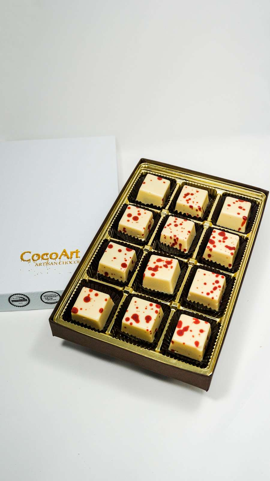 CocoArt Chocolate - store    Photo 9 of 10   Address: 20 Prag Blvd #002, Monroe, NY 10950, USA   Phone: (845) 248-1617