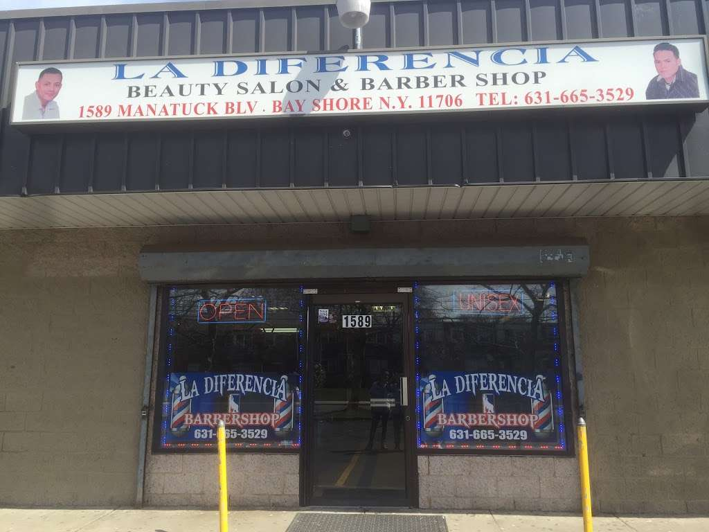 La Diferencia Barber Shop - hair care  | Photo 2 of 2 | Address: 1589 Manatuck Blvd, Bay Shore, NY 11706, USA | Phone: (631) 665-3529