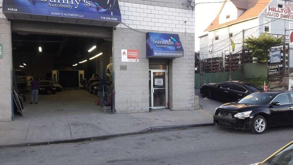 Sunnys Autobody, LLC - car repair    Photo 3 of 8   Address: 4151 Boston Road #A, Bronx, NY 10466, USA   Phone: (718) 325-5300