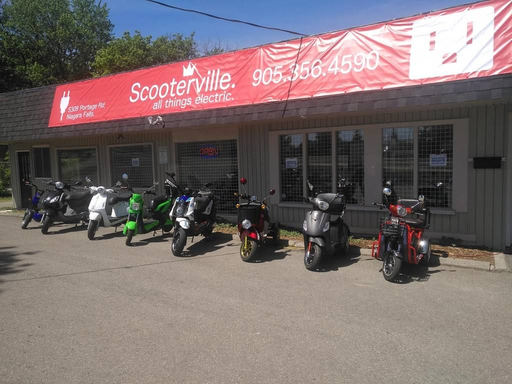 Scooterville. all things electric. - store  | Photo 3 of 5 | Address: 5309 Portage Rd, Niagara Falls, ON L2E 6B8, Canada | Phone: (905) 356-4590