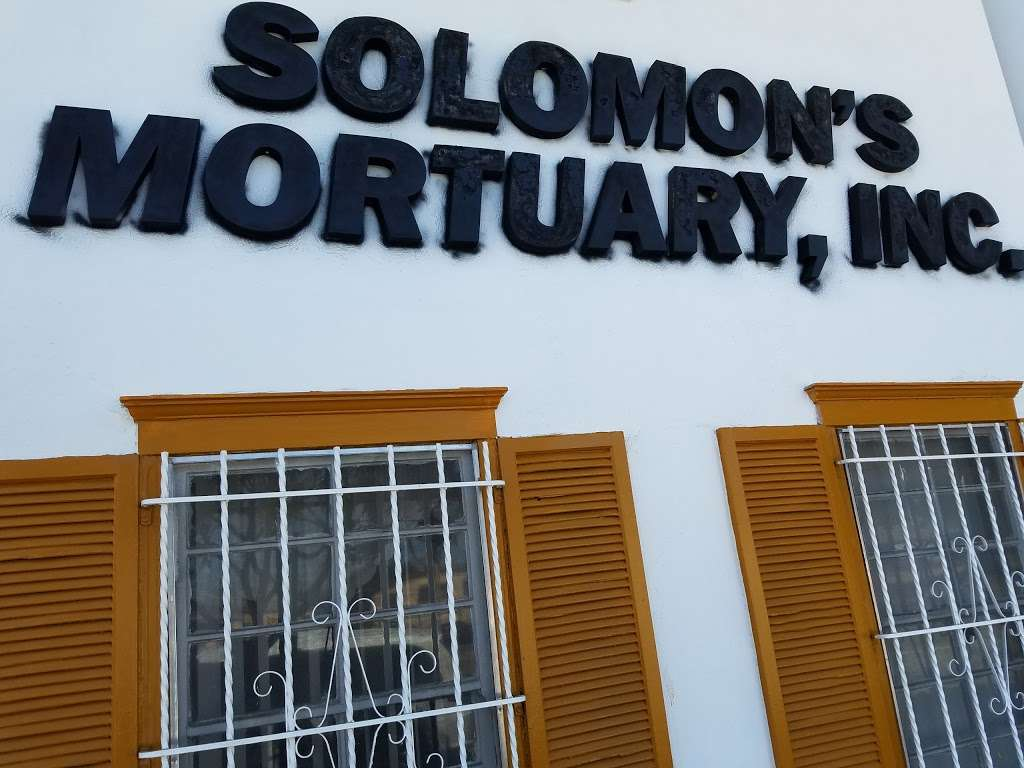 Solomons Mortuary - funeral home  | Photo 1 of 4 | Address: 10625 S Broadway, Los Angeles, CA 90003, USA | Phone: (323) 757-1754