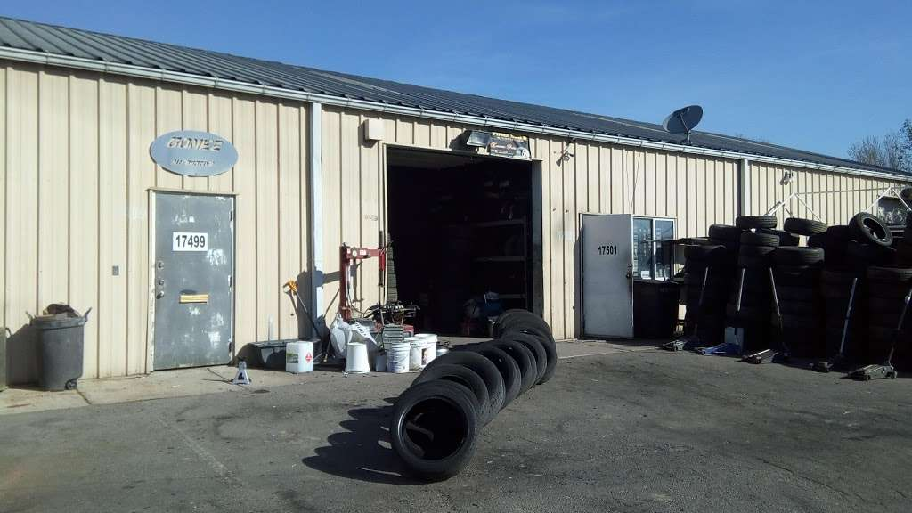 Used And New Tires Erasmo Pena - car repair  | Photo 2 of 10 | Address: 17499 Old Stage Coach Rd, Dumfries, VA 22026, USA | Phone: (571) 205-9575