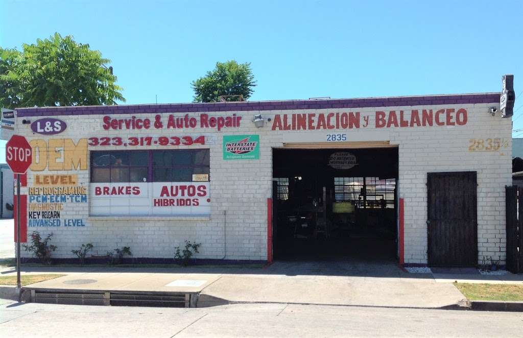 L&S Tire Service And Auto Repair - Car repair   2835 Century Blvd