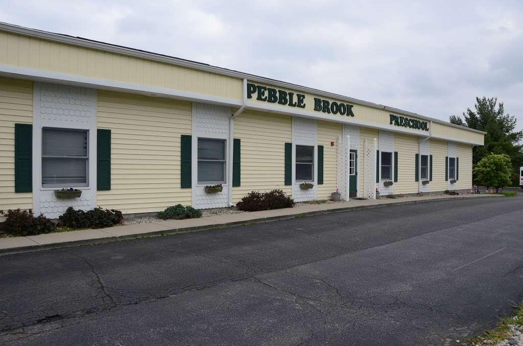 Pebble Brook Preschool - school    Photo 1 of 10   Address: 17920 Pebble Brook Blvd, Noblesville, IN 46062, USA   Phone: (317) 896-1233