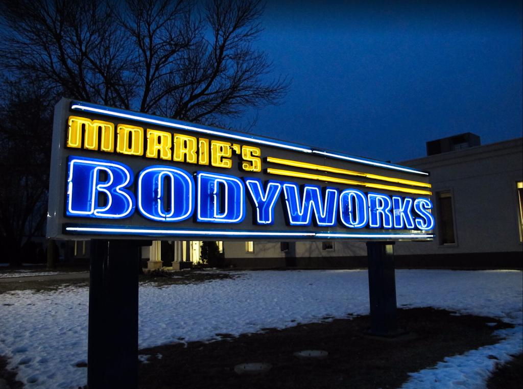 Morries Auto Body & Glass Repair - car repair  | Photo 2 of 9 | Address: 7800 Jolly Ln N, Brooklyn Park, MN 55445, USA | Phone: (763) 765-1670