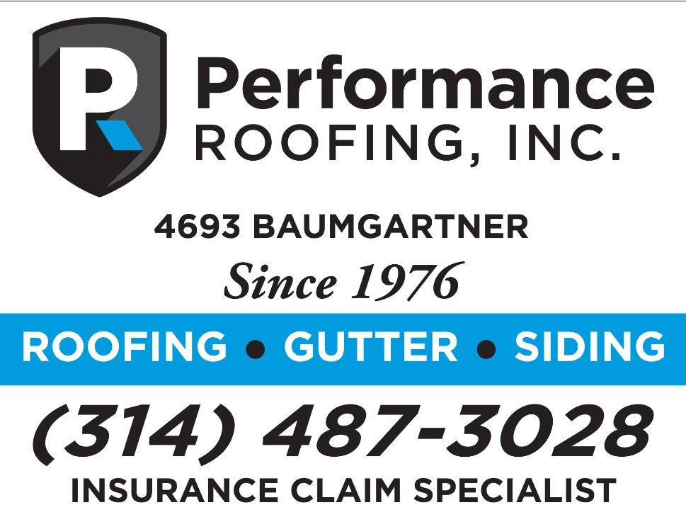 Performance Roofing, Inc. - roofing contractor  | Photo 1 of 1 | Address: 4693 Baumgartner Rd, St. Louis, MO 63129, USA | Phone: (314) 487-3028