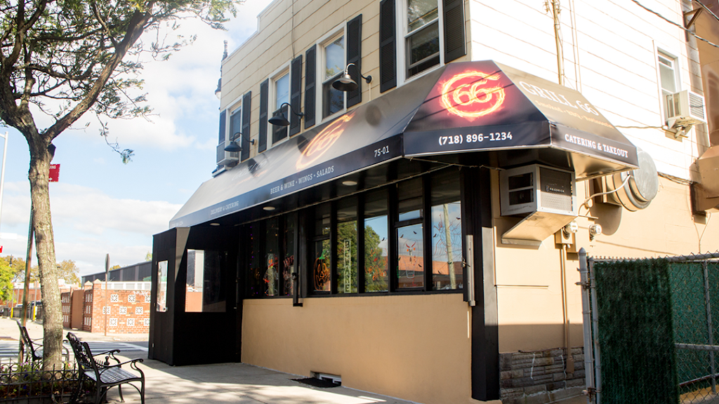Grill 66 - restaurant  | Photo 3 of 10 | Address: 75-01 88th St, Glendale, NY 11385, USA | Phone: (718) 896-1234