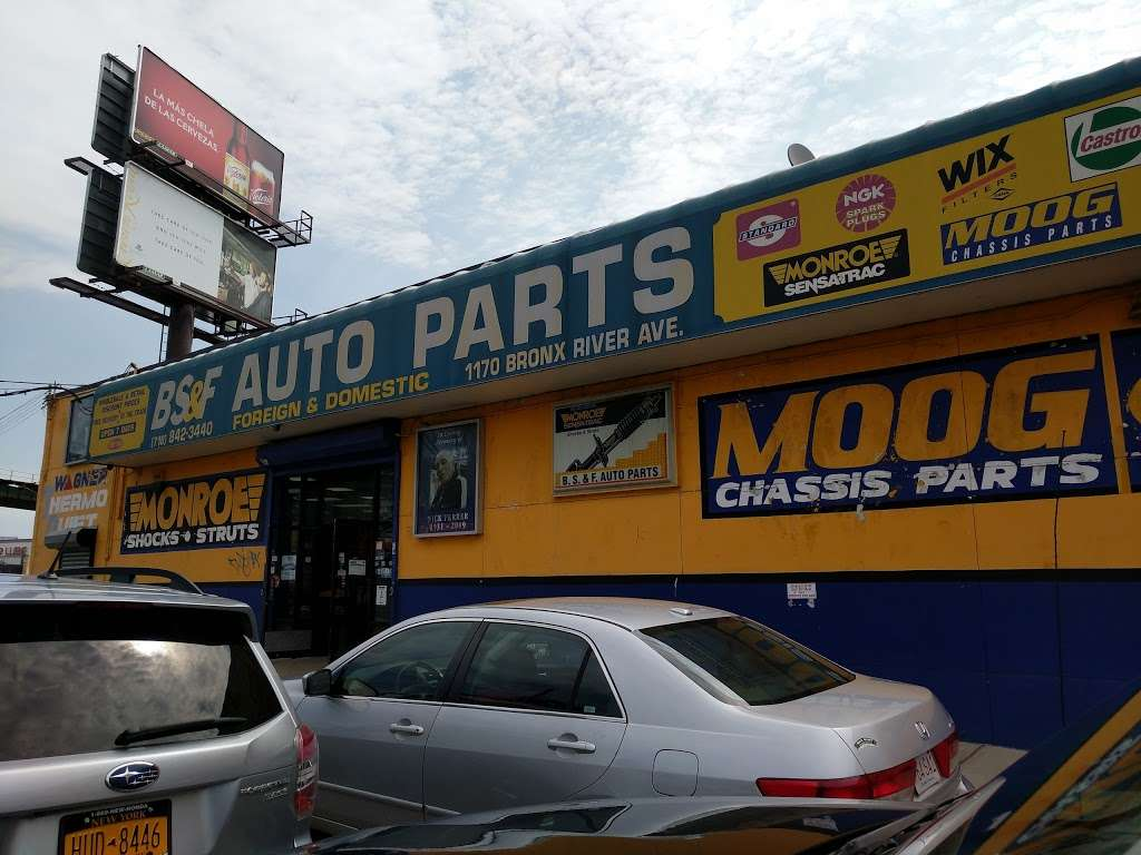 B.S.F. Auto Parts - car repair  | Photo 2 of 10 | Address: 1170 Bronx River Ave, Bronx, NY 10472, USA | Phone: (718) 842-3440