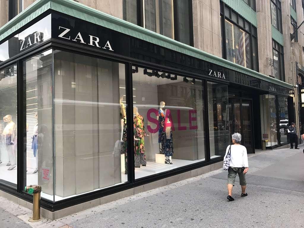 Zara - clothing store  | Photo 3 of 10 | Address: 101 5th Ave, New York, NY 10003, USA | Phone: (212) 741-0555