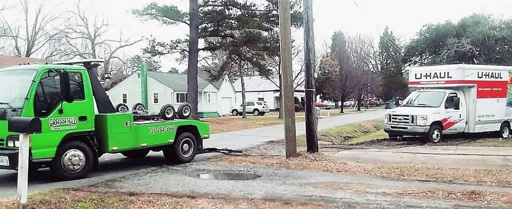 Grassfield Towing & Recovery - car repair  | Photo 7 of 10 | Address: 122 Sampson Creek Rd, Chesapeake, VA 23322, USA | Phone: (757) 264-3560
