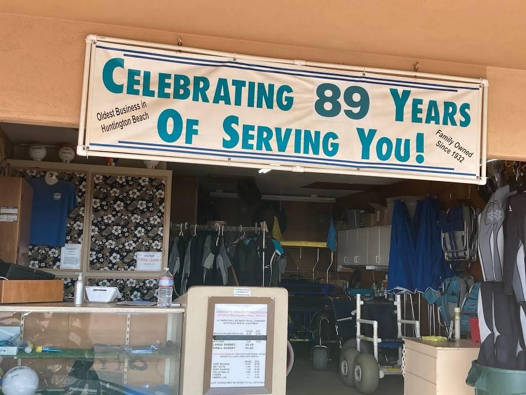 Dwights Beach Concession - restaurant  | Photo 4 of 9 | Address: 201 Pacific Coast Hwy One Block South of the, On the Boardwalk, Huntington Beach Pier, Huntington Beach, CA 92648, USA | Phone: (714) 536-8083