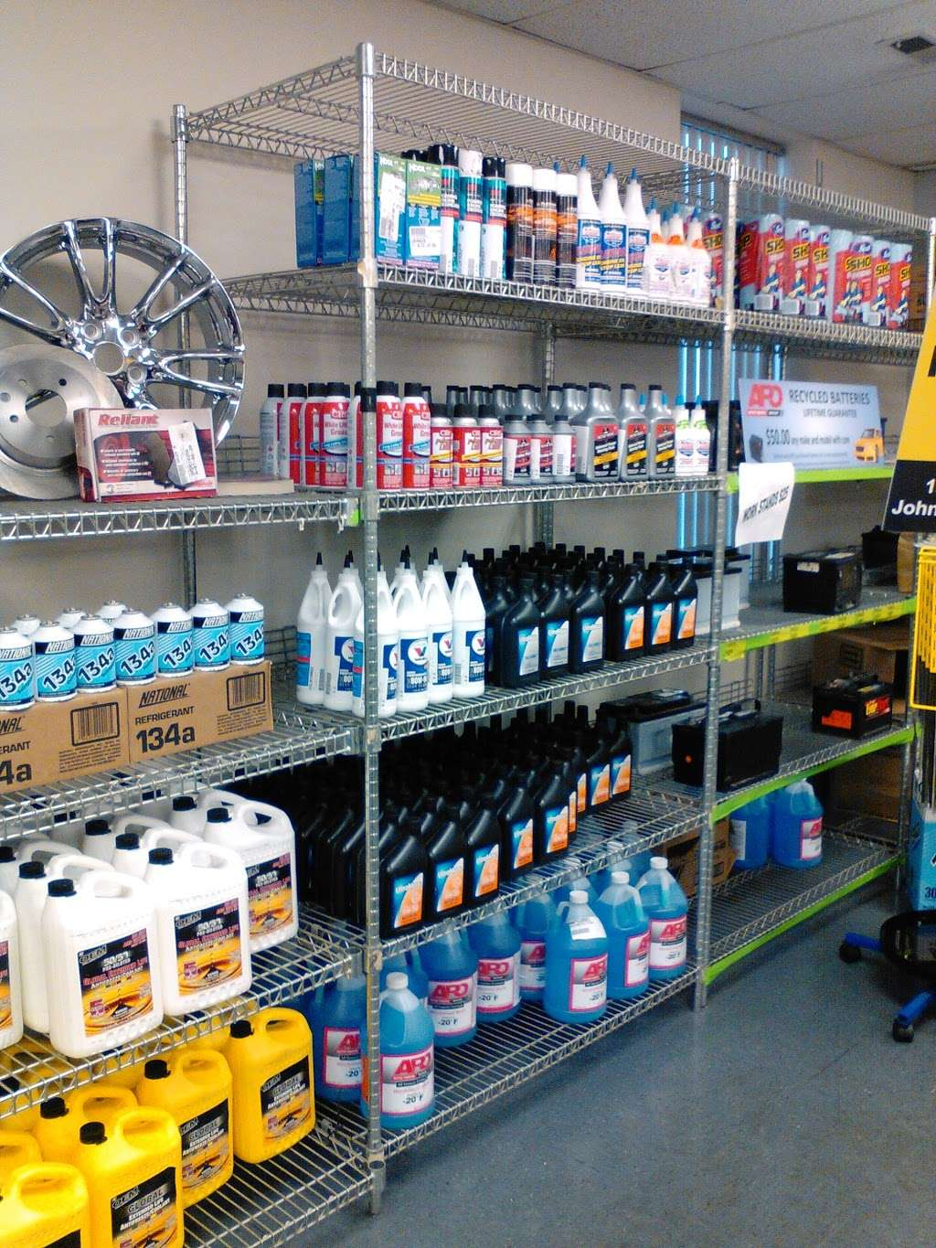 Auto Parts Outlet - car repair  | Photo 1 of 10 | Address: 128 York Ave, Randolph, MA 02368, USA | Phone: (800) 772-5558