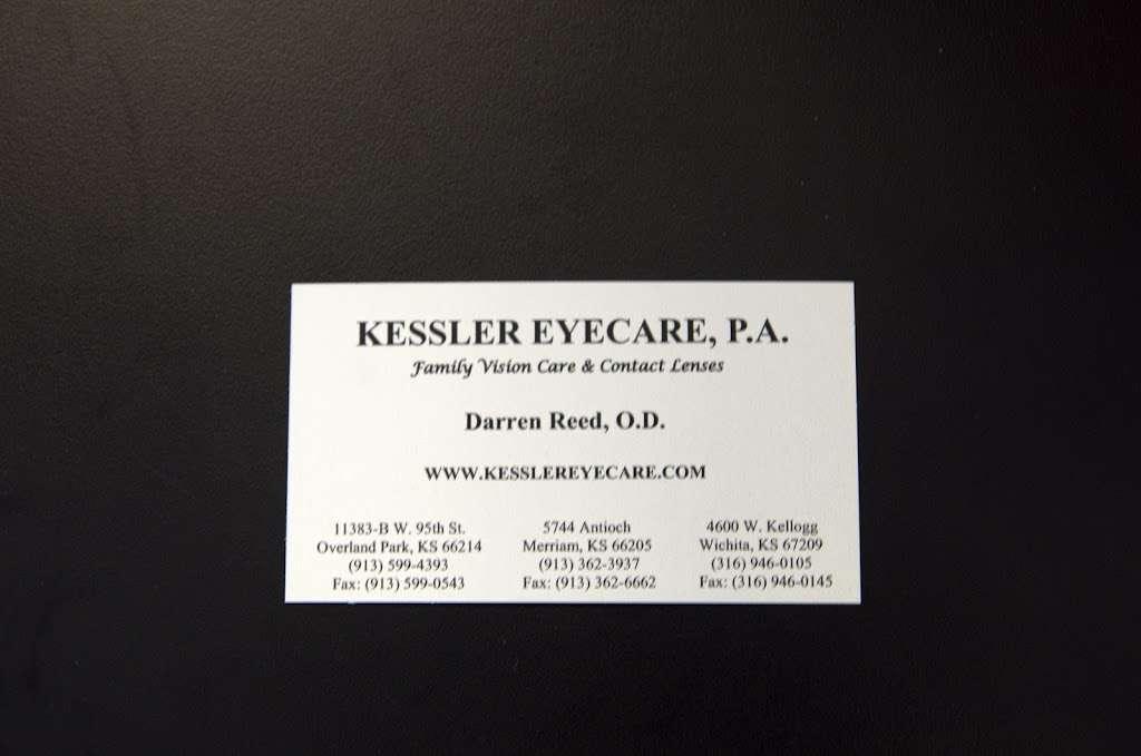 Kessler Eye Care - health  | Photo 10 of 10 | Address: 5744 Antioch Rd, Merriam, KS 66202, USA | Phone: (913) 362-3937