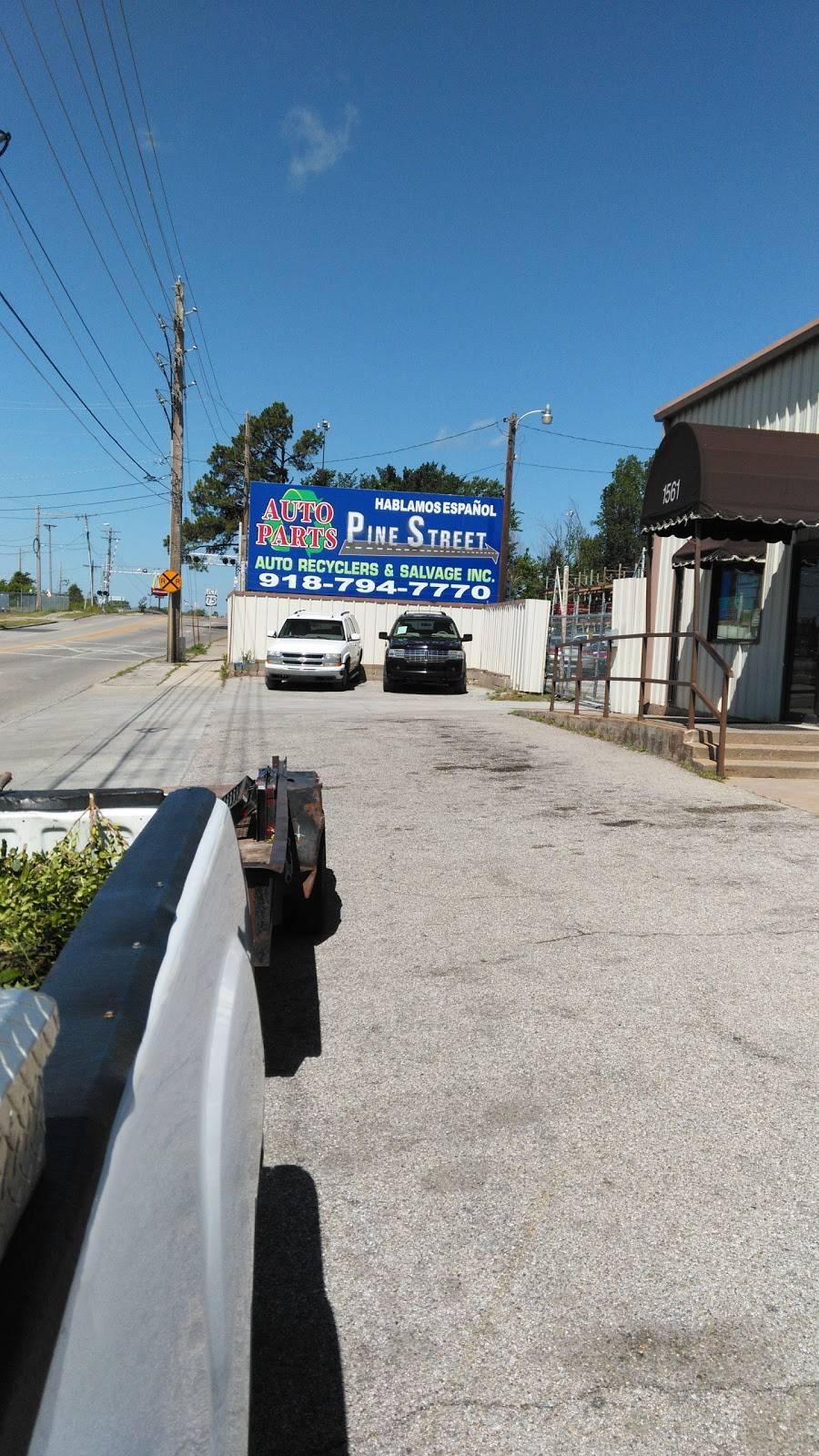 Pine Street Auto Recyclers & Salvage Inc - car repair  | Photo 2 of 10 | Address: 1561 E Pine St, Tulsa, OK 74106, USA | Phone: (918) 794-7770