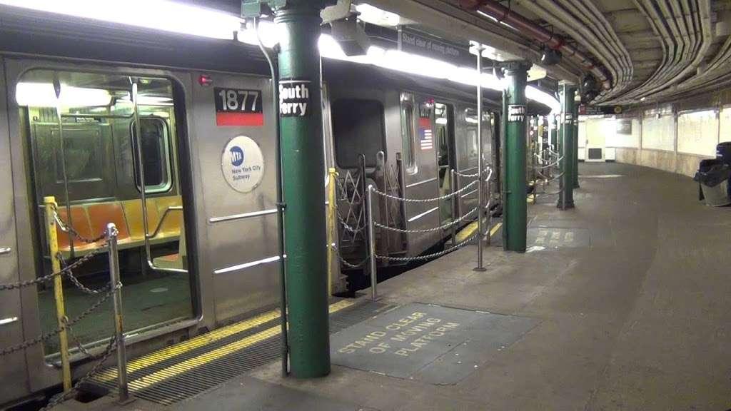 South Ferry Station - transit station  | Photo 7 of 10 | Address: New York, NY 10004, USA