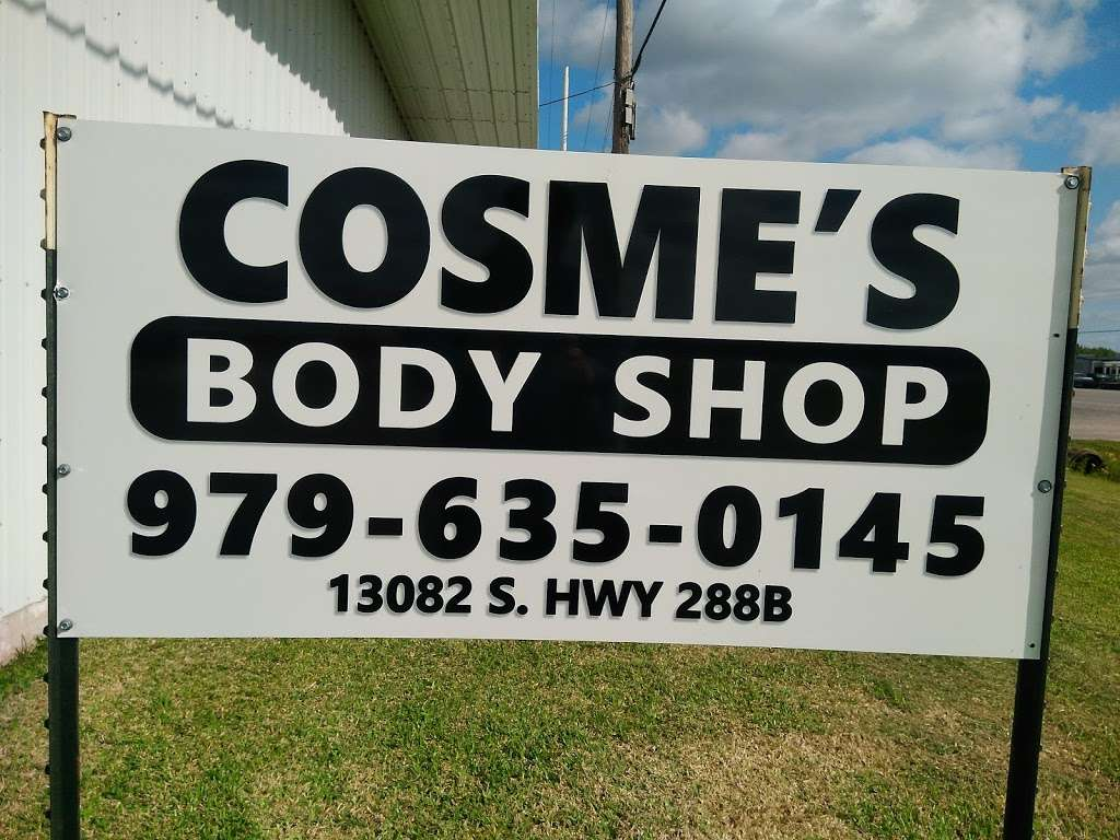 Cosmes Body Shop - car repair  | Photo 1 of 2 | Address: 13082 S, County Rd 288, Angleton, TX 77515, USA | Phone: (979) 635-0145