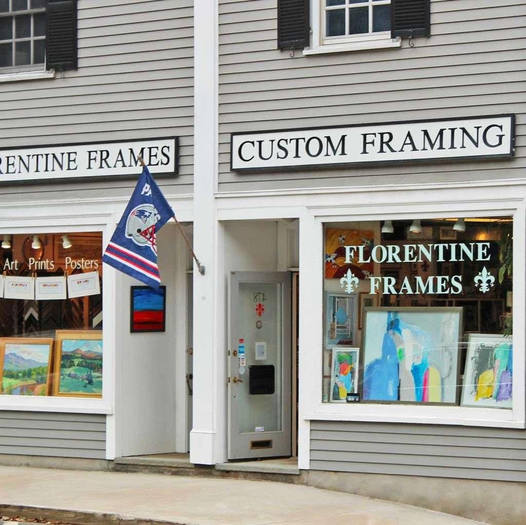 Florentine Frames - art gallery    Photo 2 of 8   Address: 478 Boston Post Rd, Weston, MA 02493, USA   Phone: (781) 647-1249