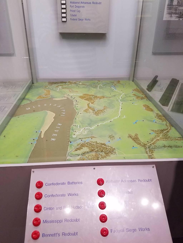 Port Hudson National Cemetery - museum  | Photo 4 of 7 | Address: 236 US-61, Jackson, LA 70748, USA | Phone: (225) 654-3775