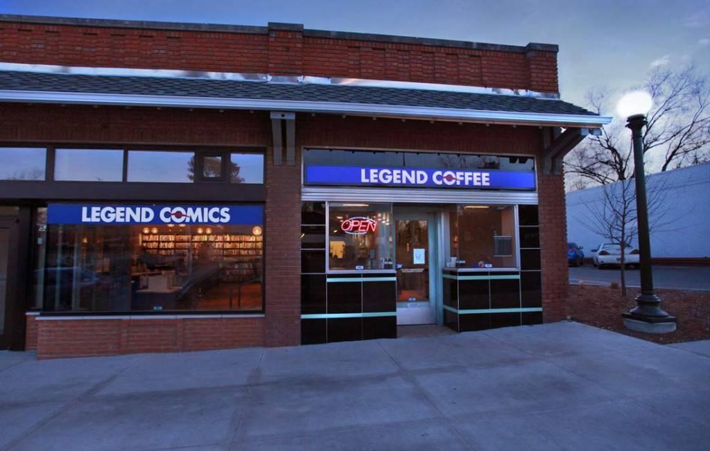 Legend Comics & Coffee - book store    Photo 3 of 9   Address: 5207 Leavenworth St, Omaha, NE 68106, USA   Phone: (402) 391-2377