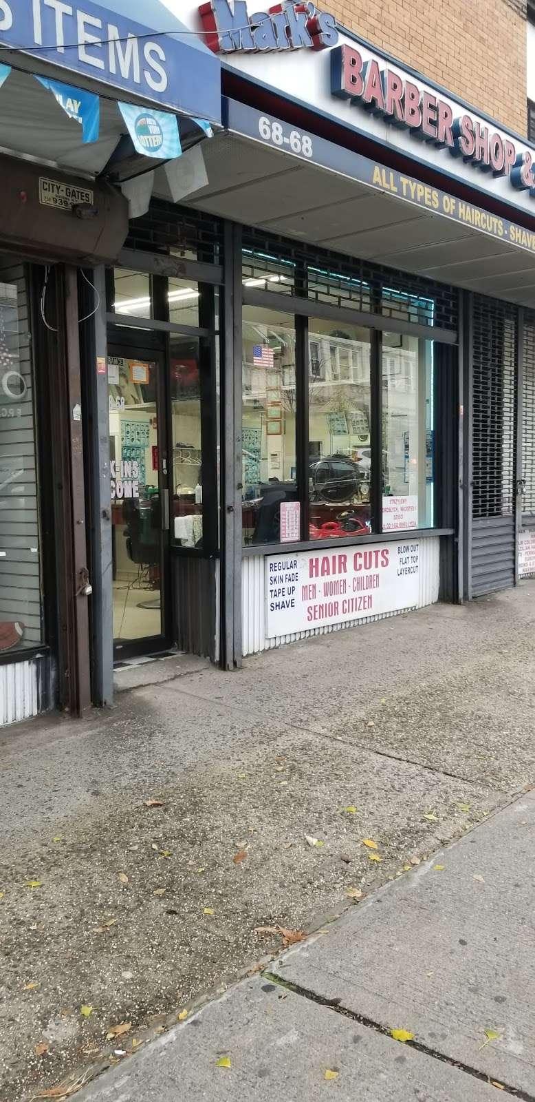 Marks Barber Shop & Beauty Salon - hair care  | Photo 1 of 6 | Address: 68-68 Fresh Pond Rd, Ridgewood, NY 11385, USA