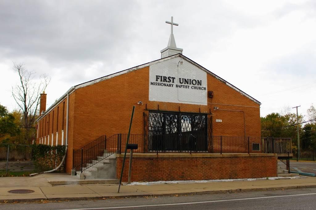 First Union Baptist Church - church  | Photo 1 of 1 | Address: 5510 St Aubin St, Detroit, MI 48211, USA | Phone: (313) 571-3043