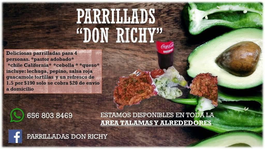 Parrilladas richy - meal delivery    Photo 2 of 3   Address: Praderas del Naranjo 1765, 32720 Cd Juárez, Chih., Mexico   Phone: 656 803 8469
