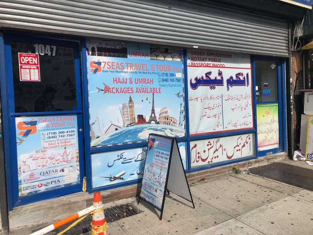 7Seas Travel & Tour - travel agency  | Photo 1 of 2 | Address: 1047 Coney Island Ave, Brooklyn, NY 11230, USA | Phone: (718) 300-4105