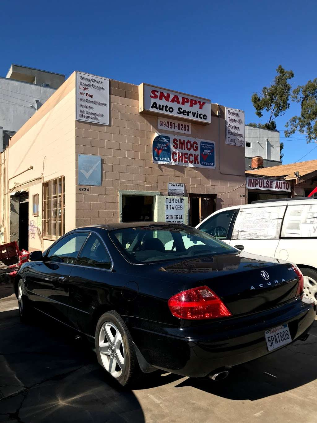 Snappy Auto Repair - car repair  | Photo 2 of 3 | Address: 4234 Mississippi St, San Diego, CA 92104, USA | Phone: (619) 491-0283
