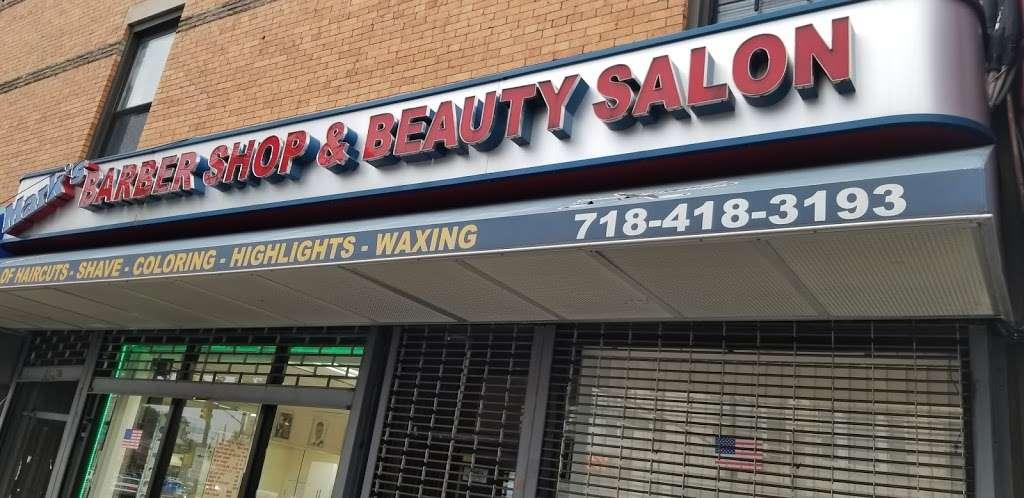Marks Barber Shop & Beauty Salon - hair care  | Photo 3 of 6 | Address: 68-68 Fresh Pond Rd, Ridgewood, NY 11385, USA
