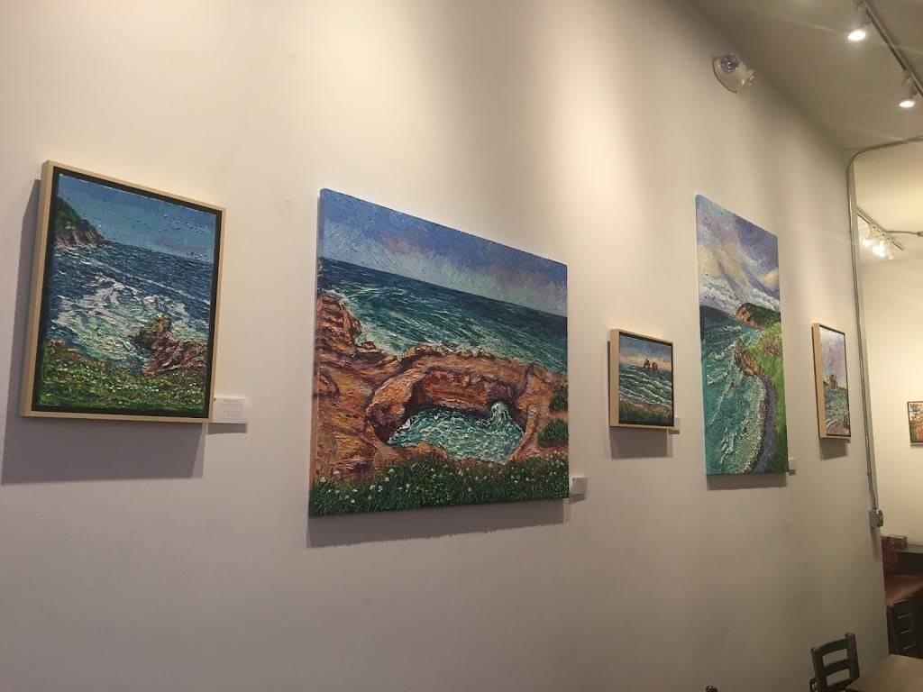 red e café roasters - art gallery  | Photo 10 of 10 | Address: 1006 N Killingsworth St, Portland, OR 97217, USA | Phone: (503) 998-1387