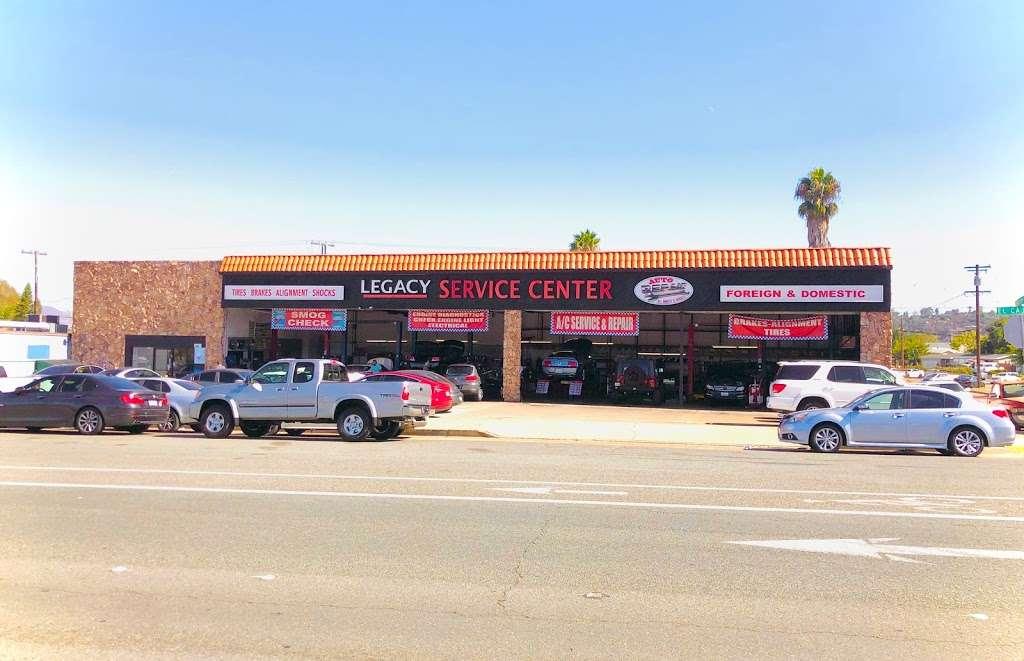 Legacy Auto Care - car repair    Photo 2 of 9   Address: 661 El Cajon Blvd, El Cajon, CA 92020, USA   Phone: (619) 444-2175