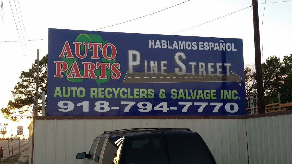 Pine Street Auto Recyclers & Salvage Inc - car repair  | Photo 10 of 10 | Address: 1561 E Pine St, Tulsa, OK 74106, USA | Phone: (918) 794-7770